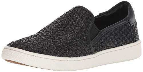 UGG Women's W CAS Glitter Sneaker Black 8 M US for sale  Delivered anywhere in USA