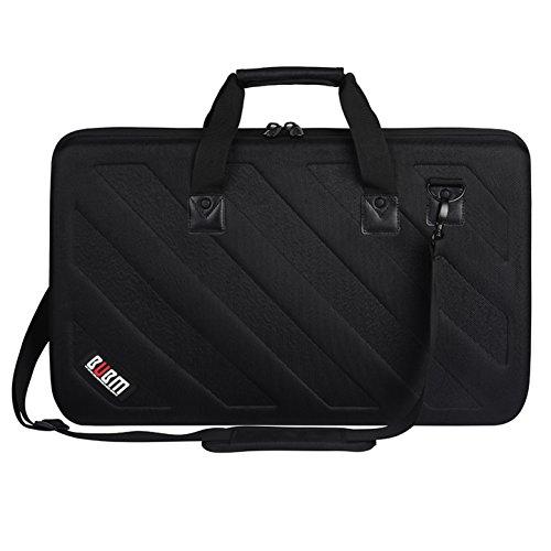 Equipment Storage Cases - BUBM Lightweight Molded EVA Storage Case, Fits Pioneer DDJ SR SR2 RR Denon MC4000 Numark NVII Mixtrack Pro 3 NV Platinum