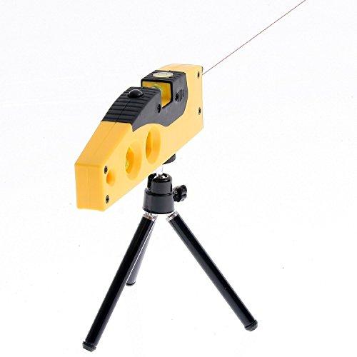 Generic SMART Bubble Professional Laserwasserwaage 4 Crosshair Ampullen Laserlinie und mit gelben Punkten mit magnetischem Standfuß Laser Level