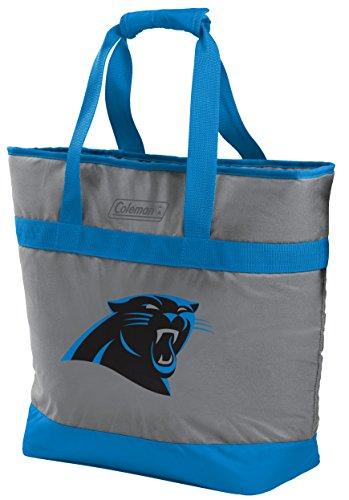 - NFL Carolina Panthers Unisex LP0757NFL 30 Can Tote Cooler, Blue, Adult