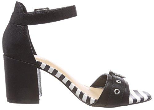 BATA Women's 769245 Ankle Strap Sandals Black (Nero 6) CL3J6zPE2D