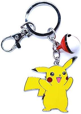 Anime Domain Llavero de Pokemon con Figura de Pikachu (D ...