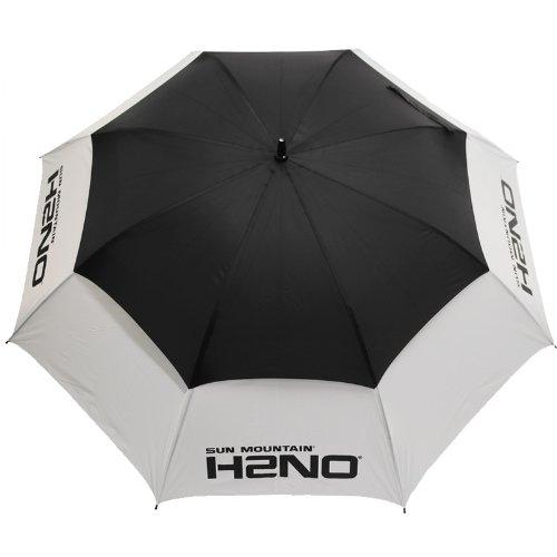 Sun Mountain H2NO Golfschirm schwarz schwarz / weiß Nicht zutreffend