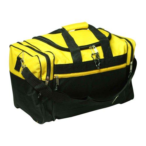 "17"" Blank Duffle Bag Duffel Bag Travel Size Sports Durable Gym Bag"