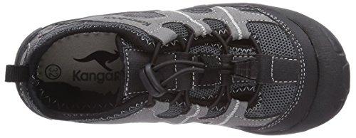 KangaROOS KangaSpeed 2066 - zapatilla deportiva de material sintético niño negro - Schwarz (black/dk grey 522)