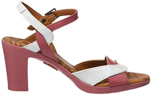 Women's Ankle Pink Strap Sandals Star 0279 Rose Rio with Art 4dwaq6w