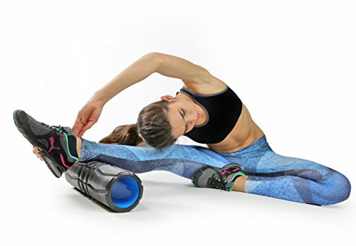 Live Infinitely High Density EVA Foam & ABS Core Deep Tissue Exercise Muscle Massager (17 x 5 Inches)