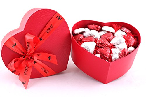 Zoroy Luxury Chocolate Valentines Day Love Gift Special Heart Box