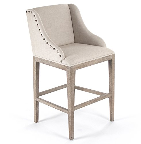 Amazon Com Kathy Kuo Home Corneille French Country Limed Oak Linen