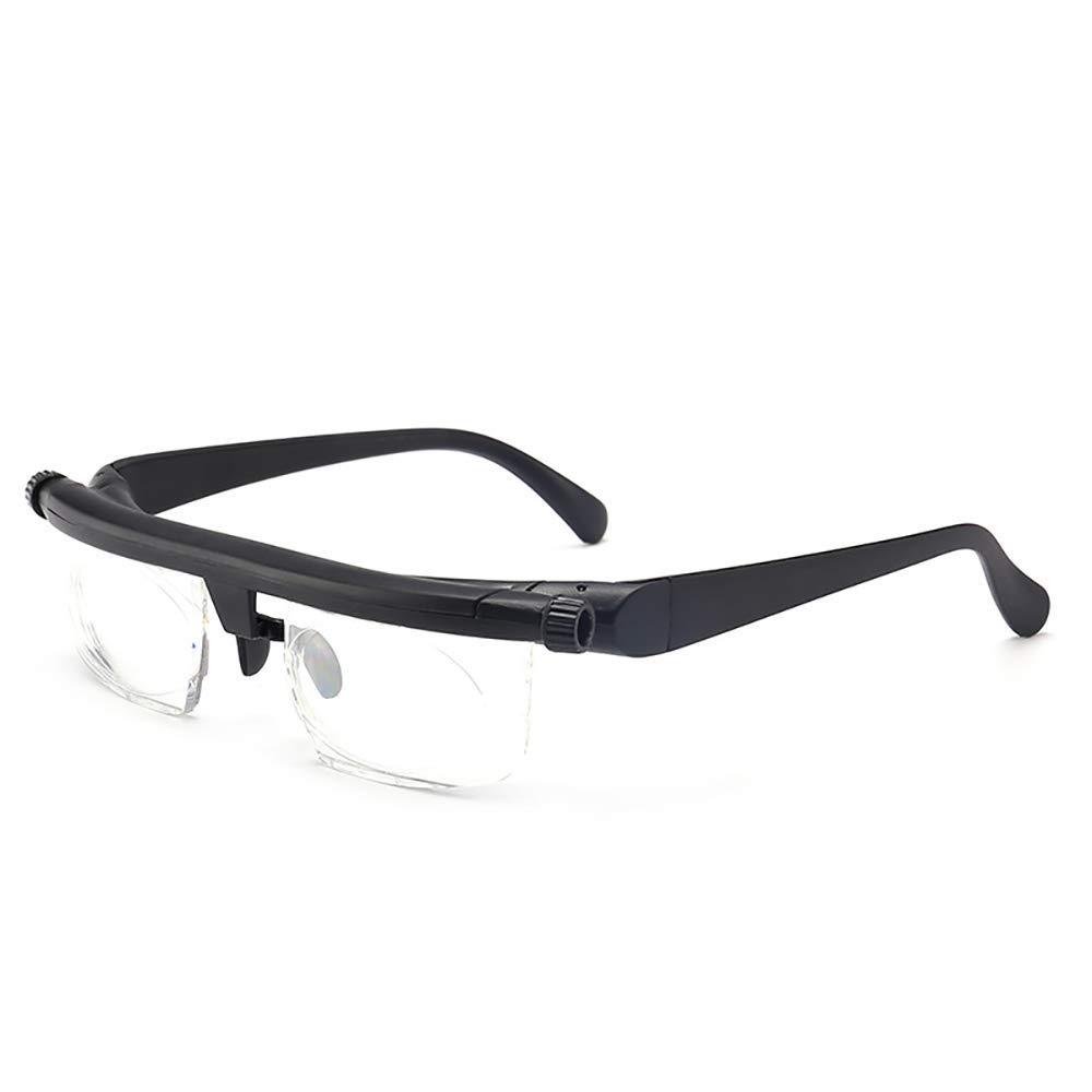3D ZUZU Focus Ajuste autom/ático Gafas de Lectura Hombres Mujeres Gafas de Lectura Ajustables Hombres Gafas Miop/ía Gafas 6D a