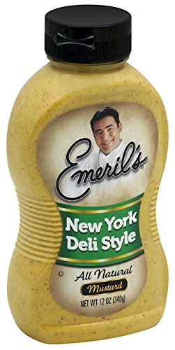 Emeril's New York Deli Style Mustard, 12 oz by Emeril