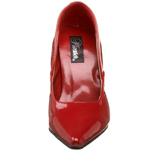 Milan Zapatos Rojo lack Mujer Pleaser Rot Para 01 wExdqE4T