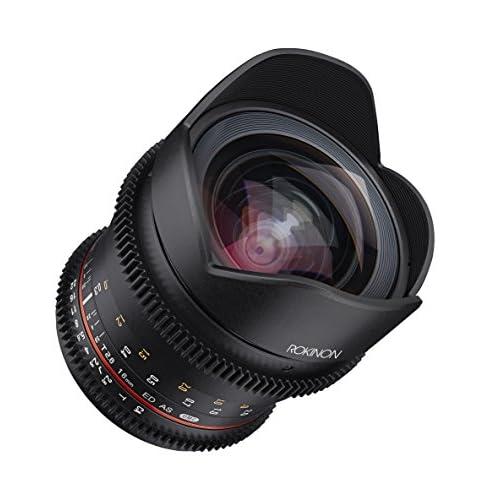 Rokinon 16mm T/2.6 Full Frame Cine Wide Angle Lens for Sony E-Mount, Black (FFDS16M-NEX)
