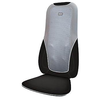 HoMedics Heated Shiatsu Back Massage Chair Cushion Massager