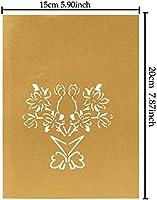 Tarjeta de felicitación 3D, diseño de ramo de flores ...