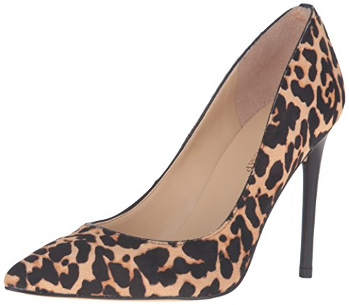 Calf Leather Pump Shoes (Ivanka Trump Women's Kaydenly Pump, Natural Multi-Animal Print, 9 M US)