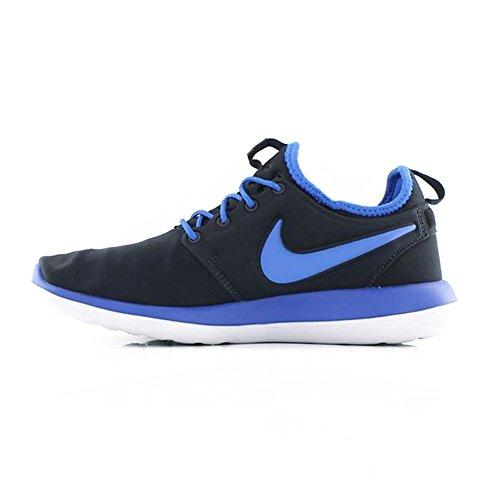 Nike 844653-400, Zapatillas de Deporte Niño, Azul Oscuro (Dark Obsidian / Hyper Cobalt Wolf Grey), 38 EU