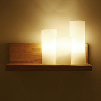 Schon T American Village Moderne Schlafzimmer Bett Persönlichkeit Holzwand  Lichter Auf Der Treppe Zwischen Der