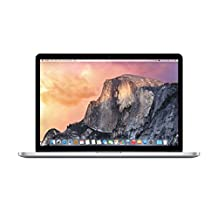 "Apple 15"" MacBook Pro, Retina Display, 2.2GHz Intel Core i7 Quad Core, 16GB RAM, 256GB SSD, Silver, MJLQ2LL/A (Newest Version)"