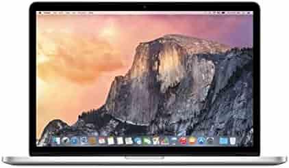 Apple 15 Inch MacBook Pro Laptop (Retina Display, 2.2GHz Intel Core i7, 16GB RAM, 256GB Hard Drive, Intel Iris Pro Graphics) Silver, MJLQ2LL/A