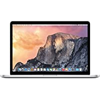 Apple 15 Inch MacBook Pro Laptop (Retina Display, 2.2GHz Intel Core i7, 16GB RAM, 256GB Hard Drive, Intel Iris Pro Graphics) Silver, MJLQ2LL/A (Newest Version)
