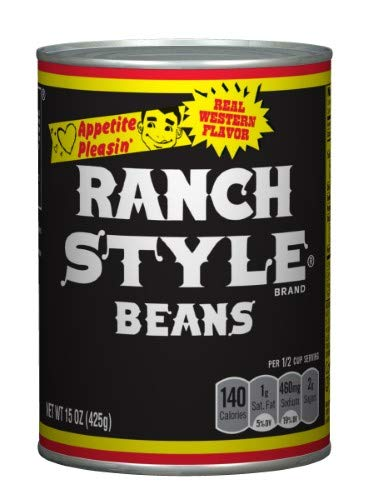 Ranch Style Beans - Black Label 15 Oz (Pack of 4) by Ranch Style