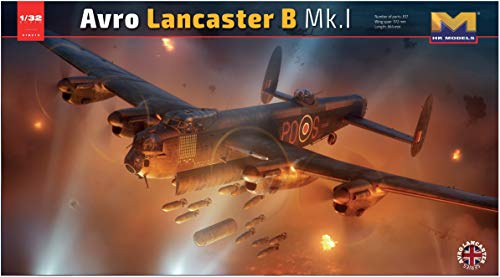 HK models 1 / 32 Avro Lancaster B Mk.1 plastic 01E010 (manufacturer limited edition)