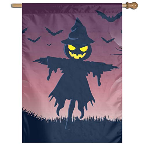 Garden Flag Halloweeen Scarecrow Lawn Banner Outdoor Yard Home Flag Wall Decoration Flag 27