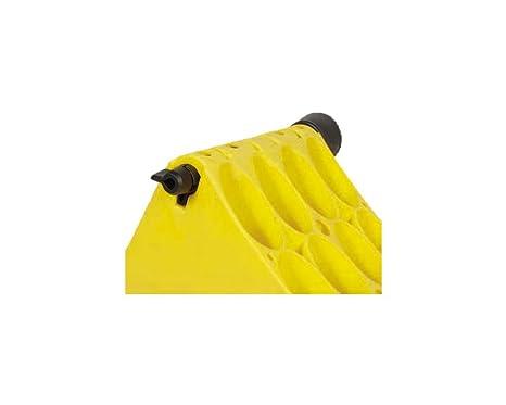 Plástico Calce Amarillo con galvanizado Protección Deslizante para camiones o