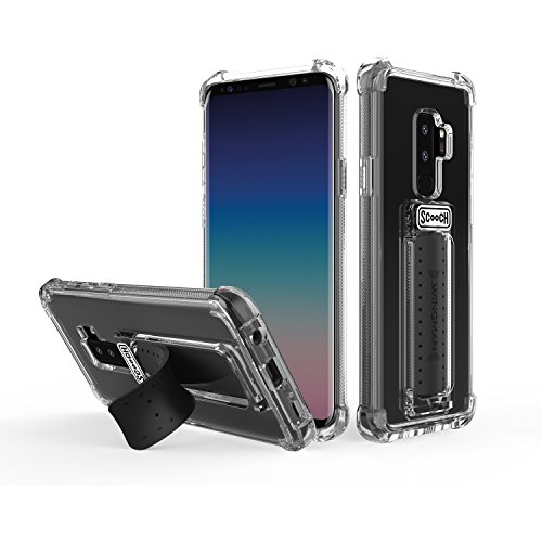 Scooch Wingman 5-in-1 Case for The Samsung Galaxy S9+ (Clear)