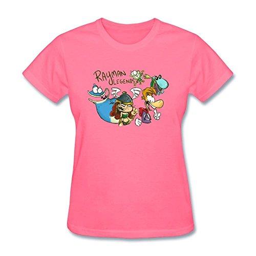 an Legends Design Cotton T Shirt L (Rayman Golf)