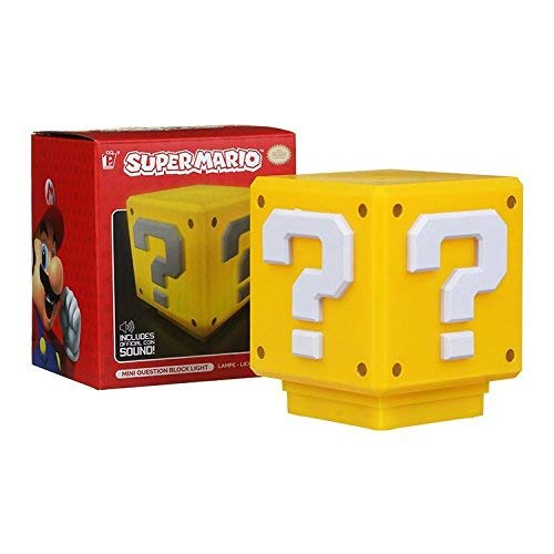 Paladone Nintendo Officially Licensed Merchandise - Super Mario Bros. Mini Question Block - Decor Light from Paladone