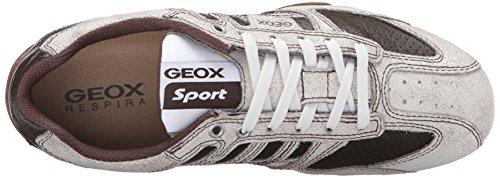 GeoxU Snake K - Zapatillas Hombre Blanco - Blanc (C0231)