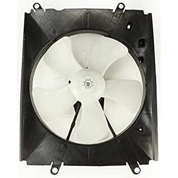 Radiator Fan Assembly Compatible with Toyota Camry 07-10 Standard Transmission 4Cyl