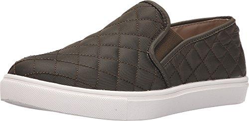 Steve Madden Women's Ecntrcqt Fashion Sneaker, Olive, 11 M US