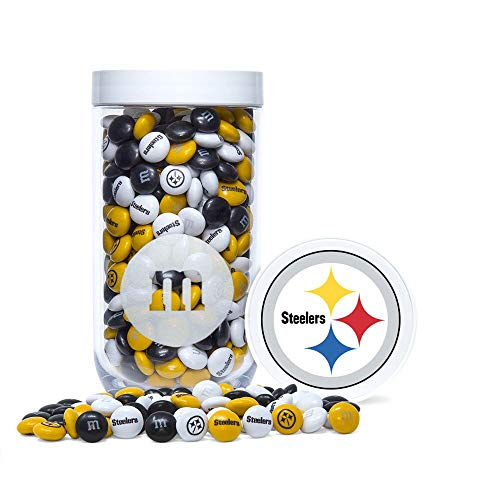 (Pittsburgh Steelers M&M's Gifting Jar, 12.7)