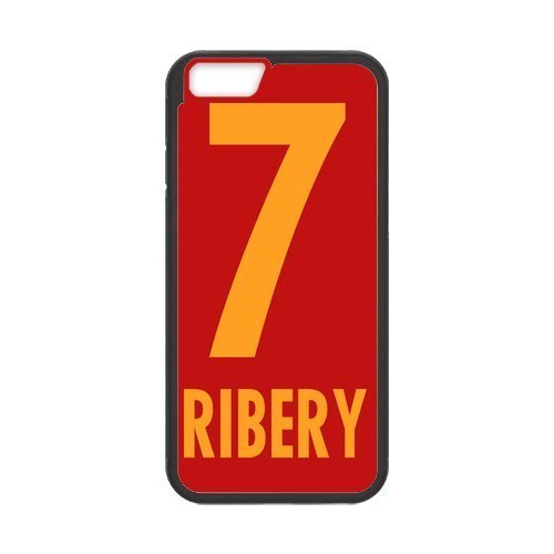 Artswow Franck Ribery Association Football Winger Custom Plastic TPU Cell Phone Case for iPhone 6 4.7 Inch
