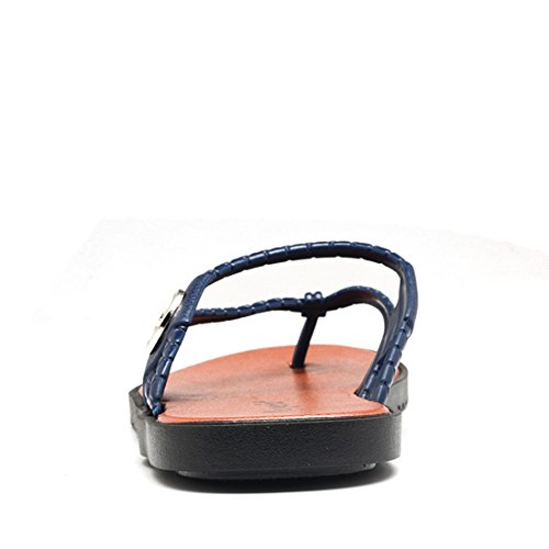 Sandali Sintetici Da Uomo Sandali Da Uomo Tda Sandali Da Spiaggia Estate Blu
