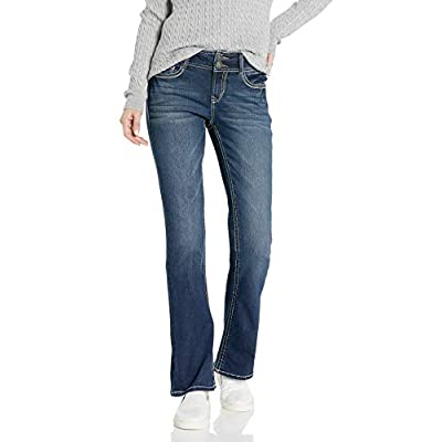 WallFlower Women's Instastretch Luscious Curvy Bootcut Jeans: Clothing