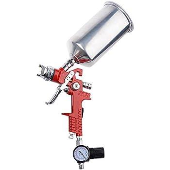 HVLP Spray Gun Auto Paint Gravity Feed Sprayer 1.4mm