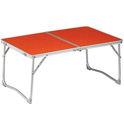 buy quechua foldable table red online at low prices in india