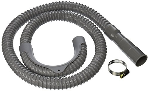 8 ft Long Washing Machine Drain Discharge Hose (Washing Machine Clamp)