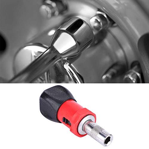 ラチェットドライバーCW/CCWラチェットドライバーツール 6.35mm 多機能六角プラスチックハンドル 機械の修理、家具の組み立て、自転車の修理などに使用