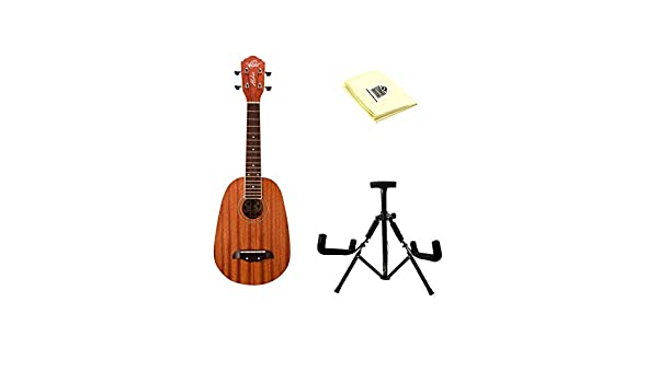Oscar Schmidt ou2p concierto ukelele de piña en caoba con gamuza y ...