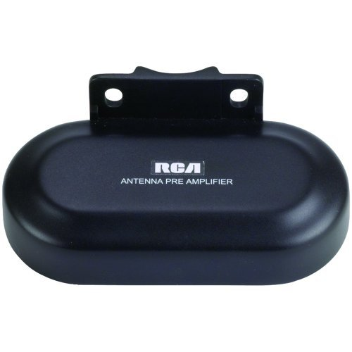 RCA TVPRAMP1R Preamplifier for Outdoor Antenna Performance Enhancement & Extension (use with ANT3038XR & ANT3036XR), Black, Model: TVPRAMP1R, Electronic Store