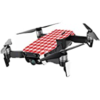 MightySkins Skin for DJI Mavic Air Drone - Red Houndstooth | Min Coverage Protective, Durable, and Unique Vinyl Decal wrap cover | Easy To Apply, Remove, and Change Styles | Made in the USA