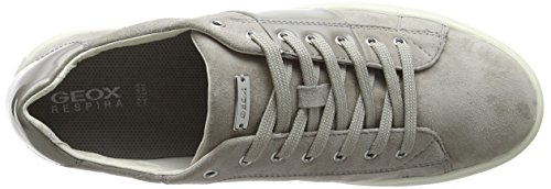 Geox D Trysure E, Zapatillas para Mujer Gris (LT GREYC1010)
