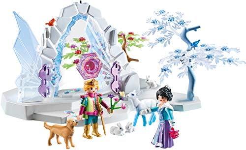 Amazon.es: PLAYMOBIL Magic Portal de Cristal al Mundo de Invierno con Efecto de Luz y Brazalete Mágico, A partir de 4 años (9471): Juguetes y juegos