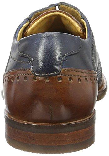 Bugatti 312232021111, Zapatos de Cordones Derby para Hombre Blau (Blue 6340)