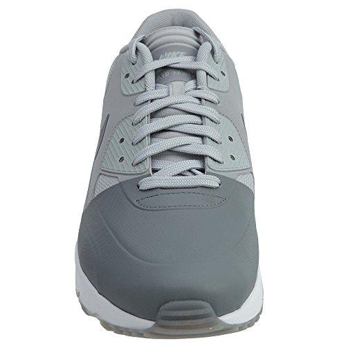 Aire Nike Hombres Máximo De Ultra Zapato 2,0 Consecutivo Esencial Gris Fresco / Frío Gris-lobo Gris-blanco